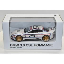 MINIATURE 1/18ème BMW 3.0 CSL HOMMAGE